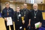 Rēzekniešiem 3. vieta Latvijas čempionātā galda tenisā