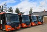 Jauno autobusu pirmā partija jau Rēzeknē!