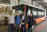 Готовность первого электробуса— 95%