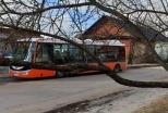 Izmaiņas autobusu kustības maršrutos Nr. 1, 3, 5 un 12