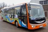 В Резекне более удобный, современный и экологически чистый общественный транспорт
